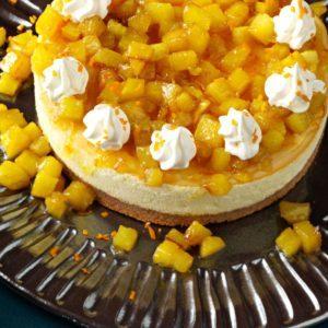 Pineapple Orange Cheesecake