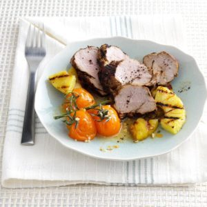 Pineapple Pork Tenderloin