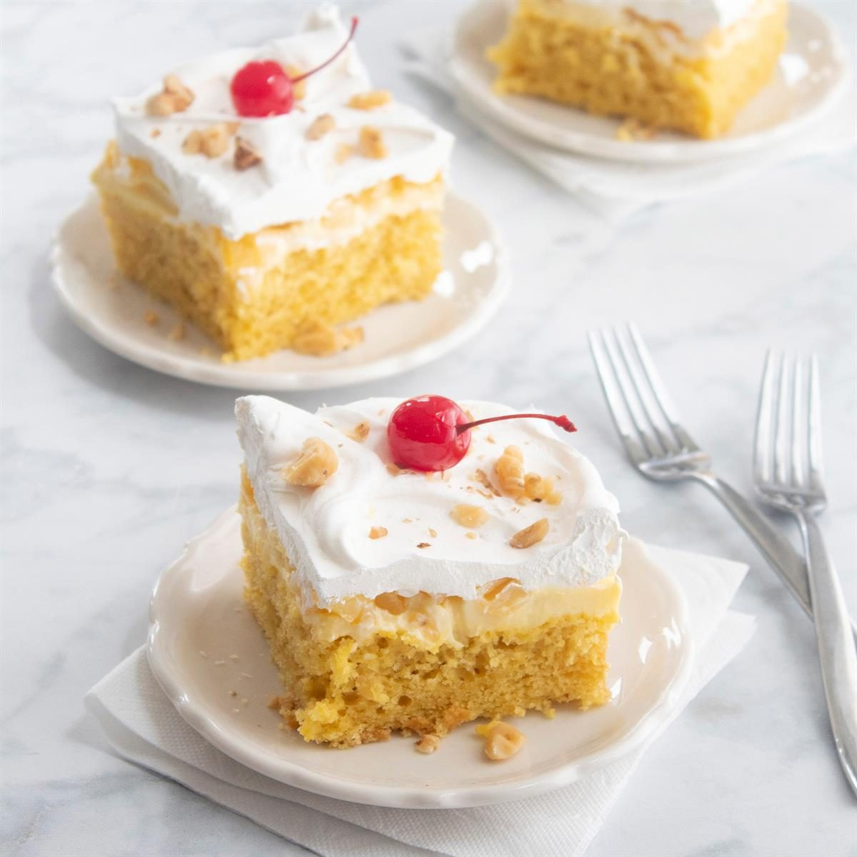 Pineapple Sunshine Cake: Pineapple Pudding Cake Recipe