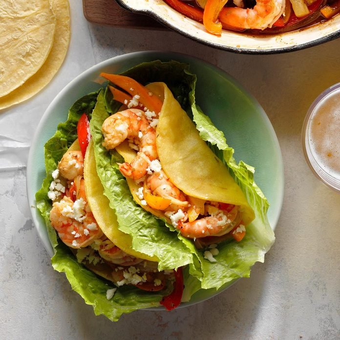 Pineapple Shrimp Tacos