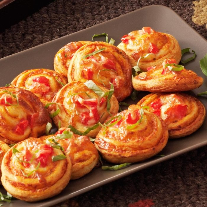 Pinwheel Pizza Snacks
