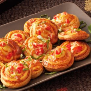 Pinwheel Pizza Snacks