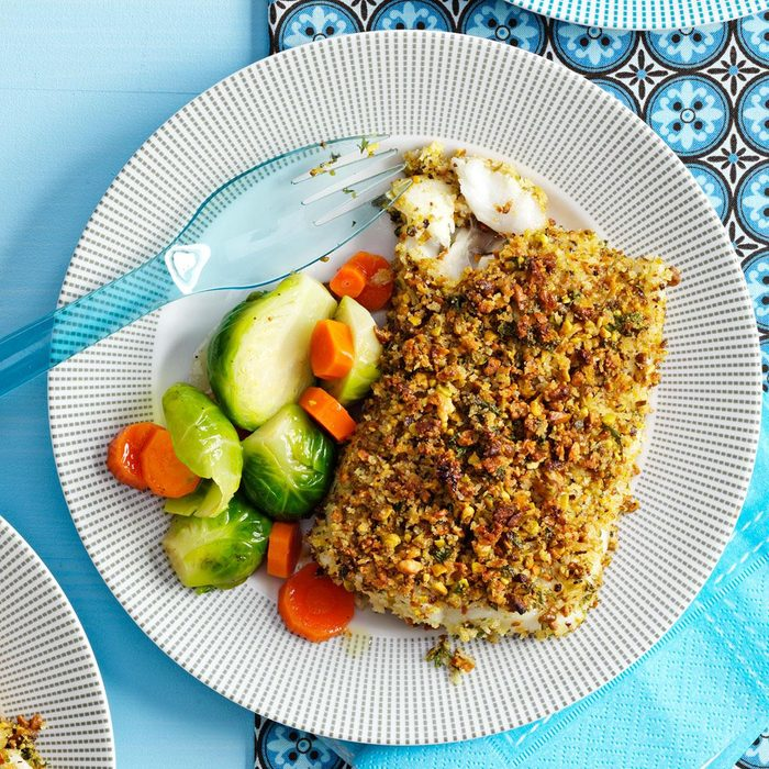 Pistachio-Crusted Fish Fillets