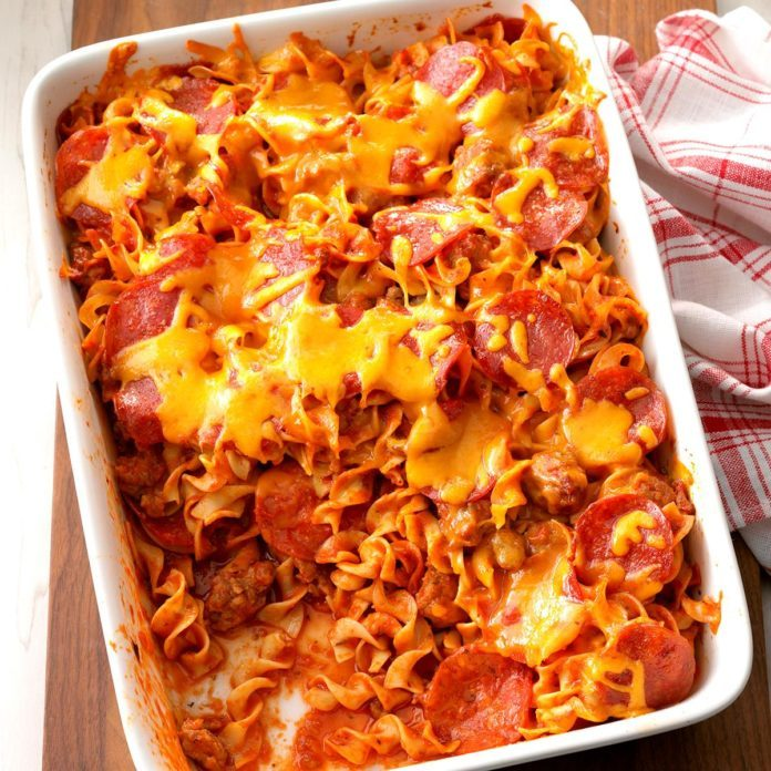 Pizza Lover's Casserole