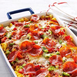 Pizza Macaroni & Cheese