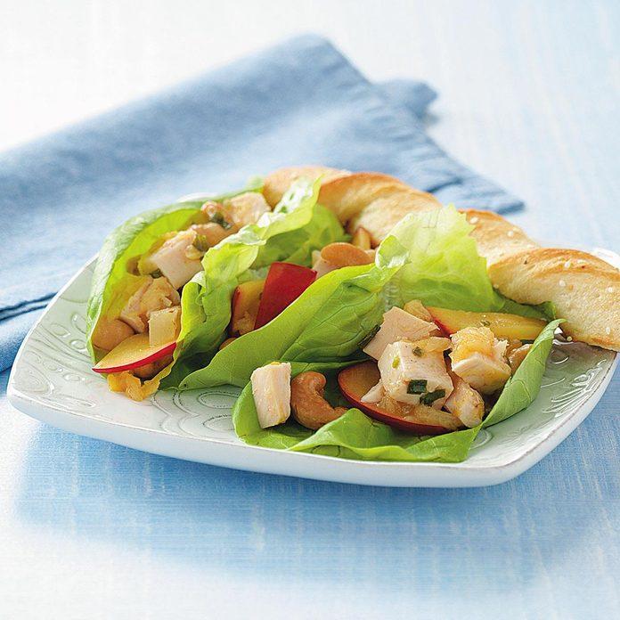 Plum Chicken Wraps