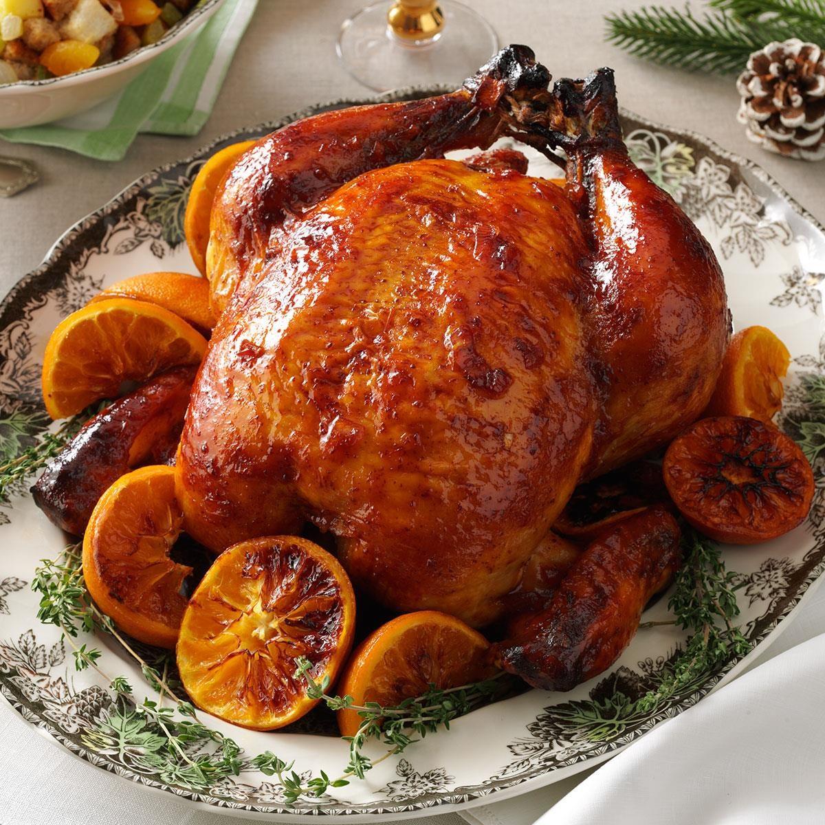 Plum Glazed Roast Chicken Recipe Taste Of Home
