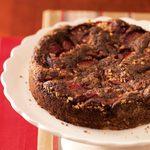Plum-Topped Chocolate Kuchen