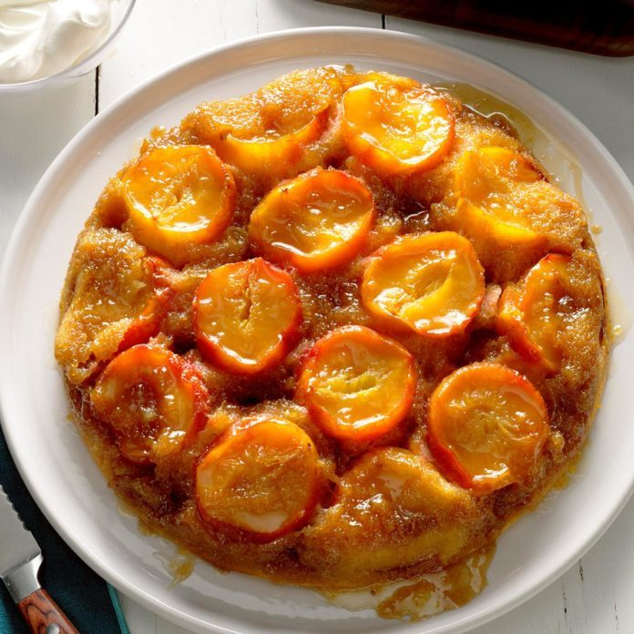 Oregon: Plum Upside-Down Cake