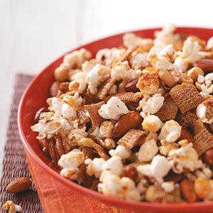 Popcorn Nut Treat