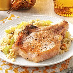 Pork Chop and Chiles Casserole