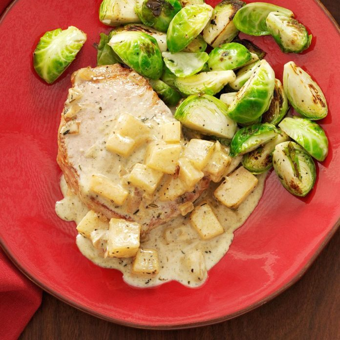 Pork Chops Normandy