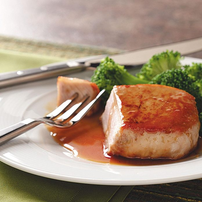 Pork Chops with Citrus Glaze