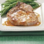 Pork Chops with Orange Sauce for Two