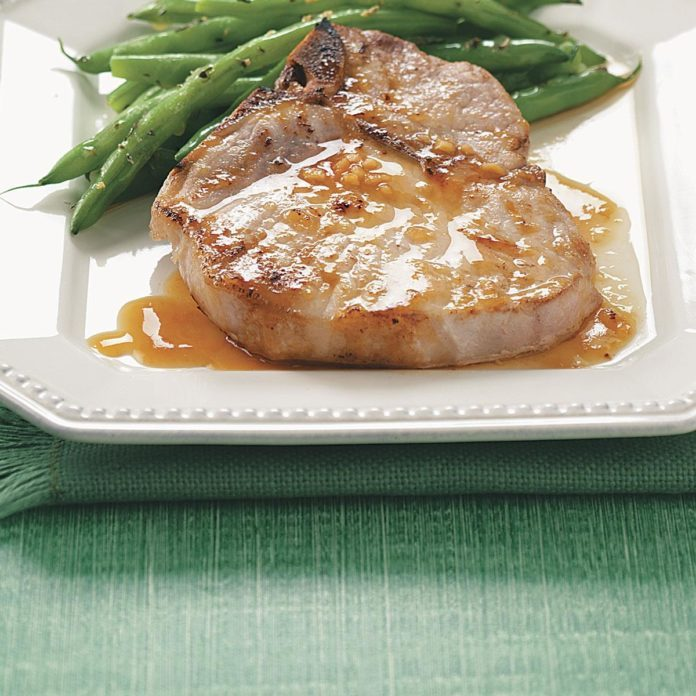 Pork Chops with Orange Sauce