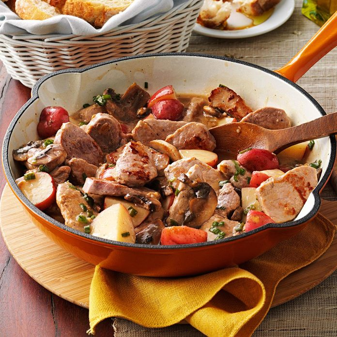 Day 12: Pork & Potato Supper