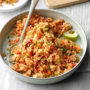 Pork Spanish Rice