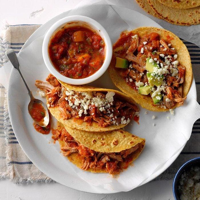 Day 23: Pork Tacos with Mango Salsa