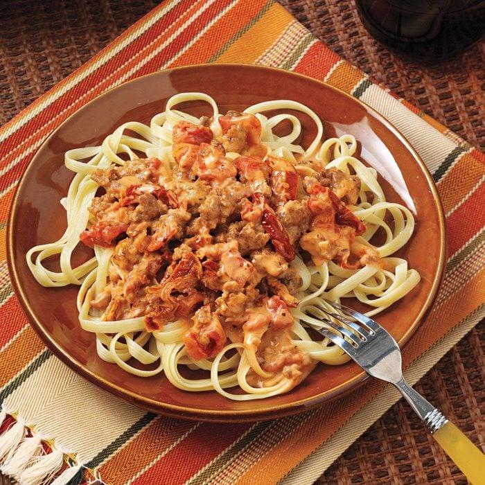 Pork & Tomato Pasta Sauce