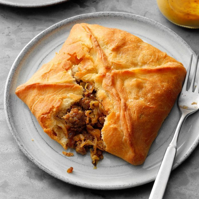 Pork and Cabbage Pockets