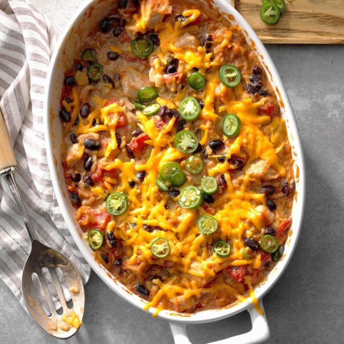 Pork and Green Chile Casserole