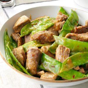 Pork 'n' Pea Pod Stir-Fry