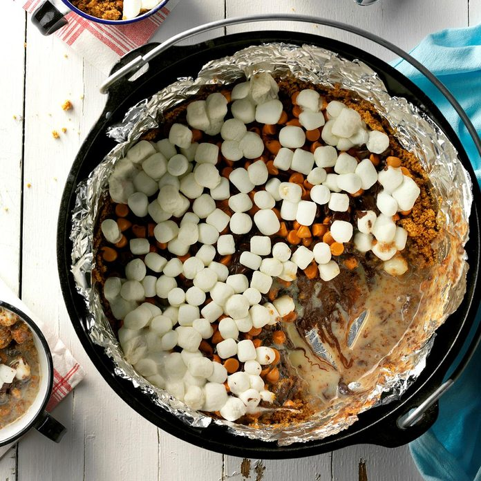 Pot of S'mores