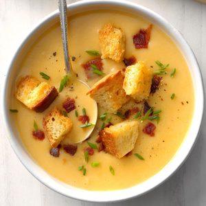 Potato Beer Cheese Soup