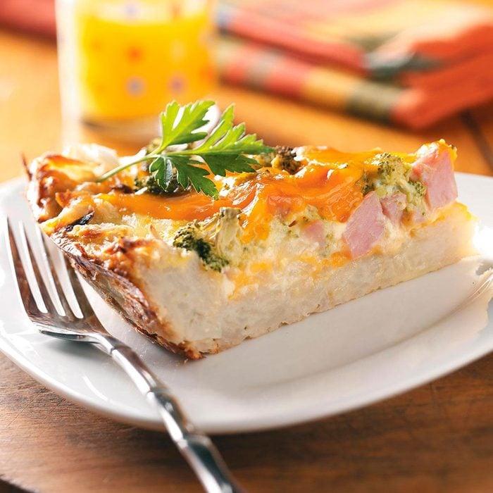 Potato Crust Quiche