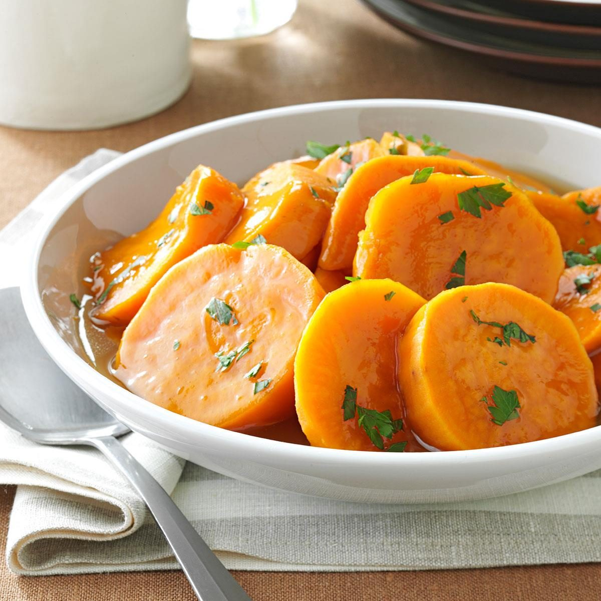 Potluck Candied Sweet Potatoes