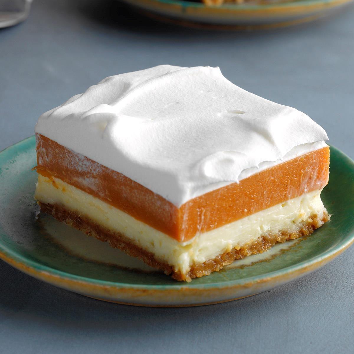 Potluck Pumpkin Torte