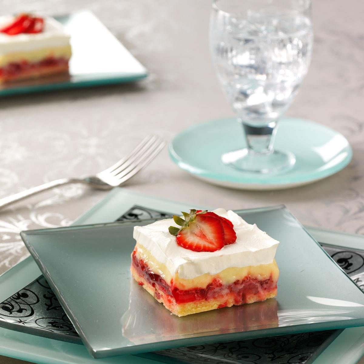 Potluck Strawberry Trifle