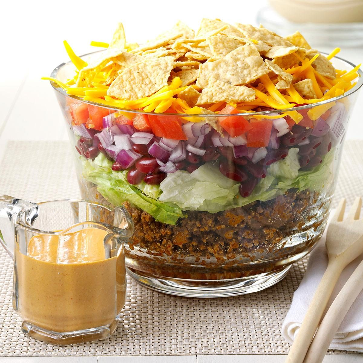 Inspired by: Taco Bell's Fiesta Taco Salad