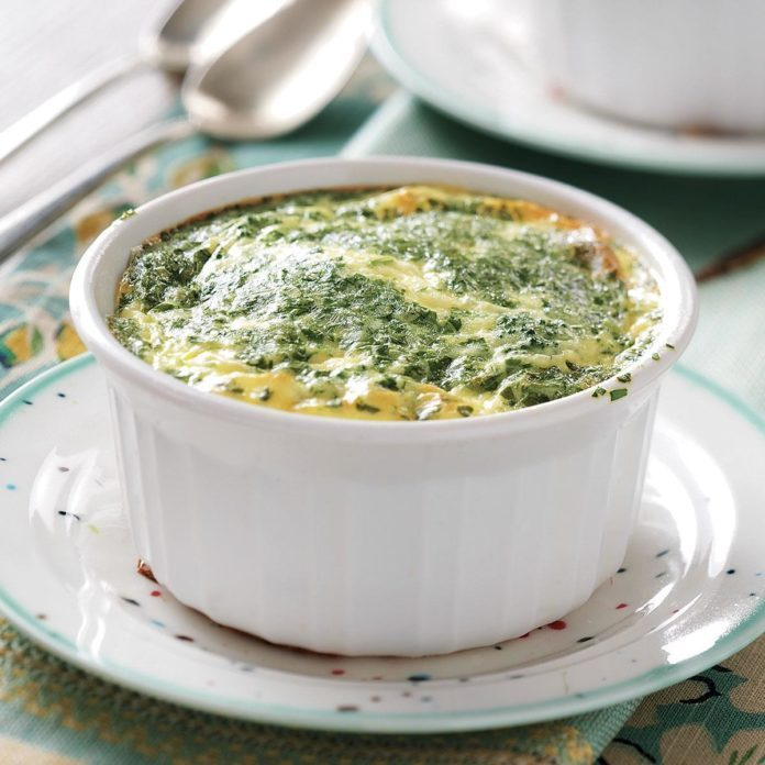 Pressure Cooked Broccoli Egg Cups
