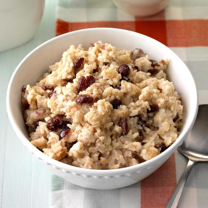 Instant Pot Cherry & Spice Rice Pudding