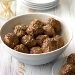 Pressure Cooker Hoisin Meatballs