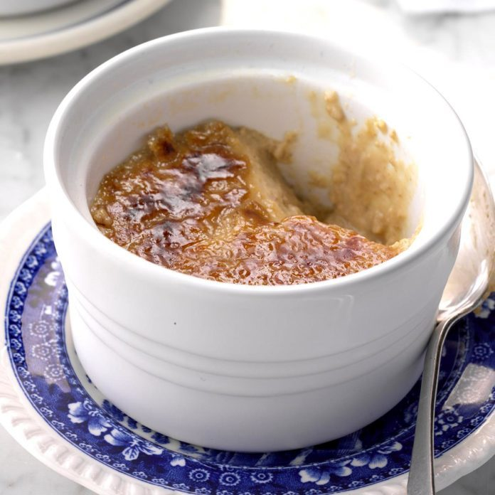 Instant Pot Maple Creme Brulee