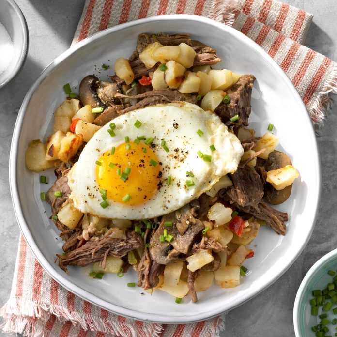 Pressure-Cooker Pot Roast Hash