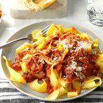 Pressure-Cooker Sicilian Meat Sauce