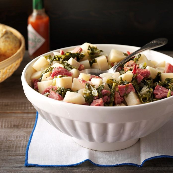 Instant Pot Truly Tasty Turnip Greens