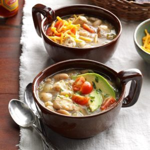 Pressure Cooker White Bean Chicken Chili
