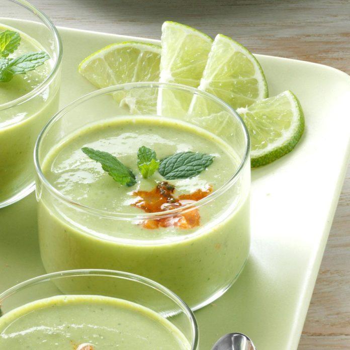 Pretty Pea Soup Cups