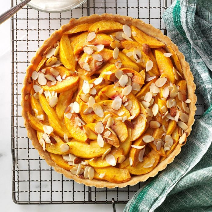 Pretty Peach Tart