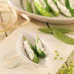 Pretty Stuffed Spring Peas