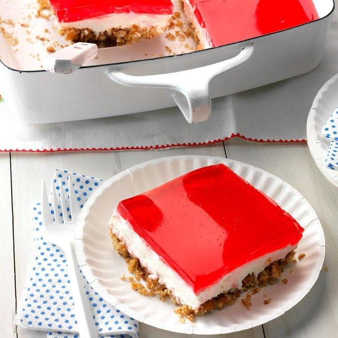 Pretzel Gelatin Dessert