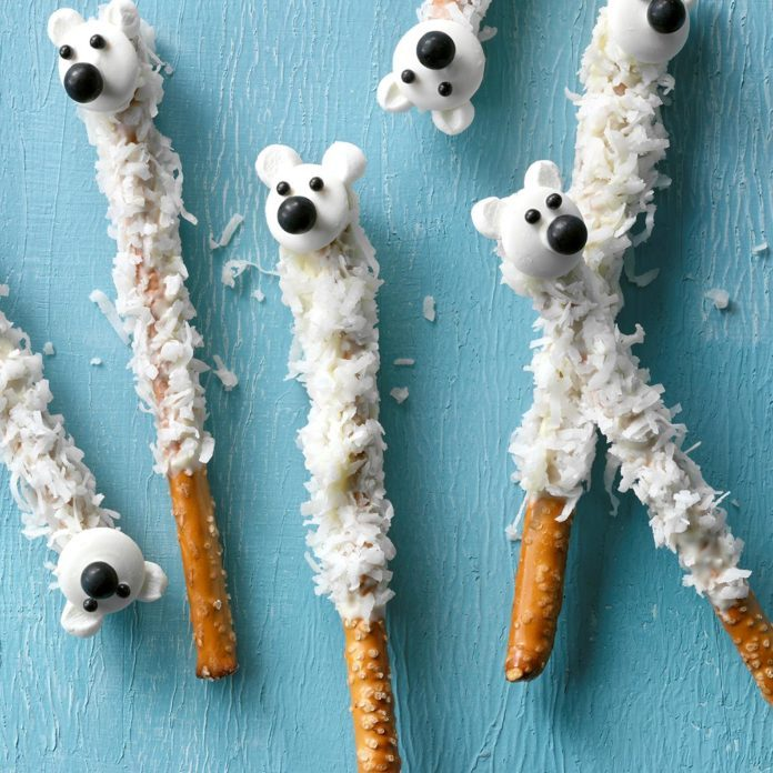 Pretzel Polar Bears
