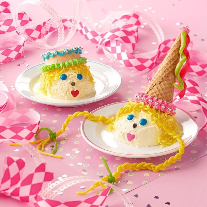 Prince and Princess Ice Cream Cones