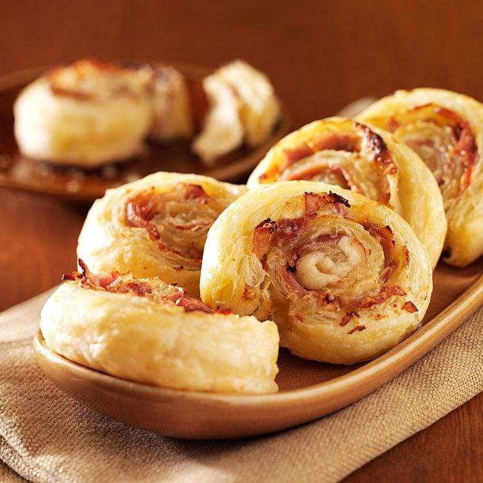 Prosciutto Parmesan Pinwheels