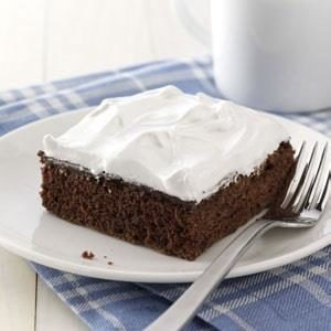 Pudding-Filled Devil's Food Cake