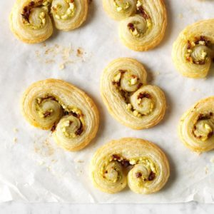 Puff Pastry Christmas Palmiers